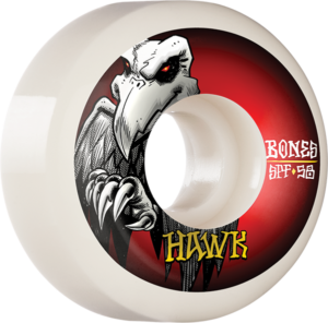 BONES HAWK SPF P5 FALCON II 58mm WHT x4