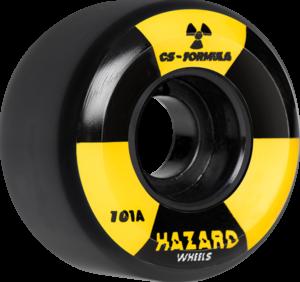 HAZARD CS RADIO ACTIVE CONICAL 52mm BLACK x4