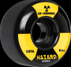 HAZARD CS RADIO ACTIVE CONICAL 54mm BLACK x4