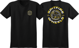 Spitfire DEEP CUTS SS BLK/YEL