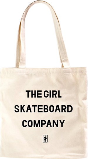 GIRL SANS CANVAS TOTE BAG NATURAL