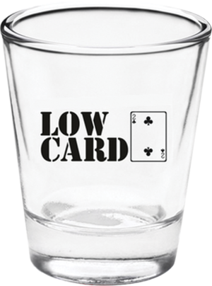 LOWCARD GOOD DECISIONS SHOT GLASS