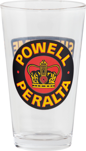 Powell Peralta SUPREME PINT GLASS
