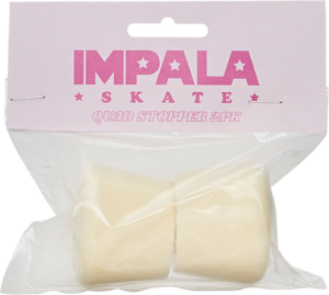 IMPALA SKATE SPARE STOPPERS 2PK PASTEL YEL