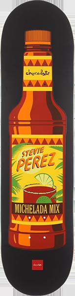 Chocolate PEREZ HECOX ESSENTIALS DECK-8.0