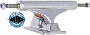 Independent MID 129mm SILVER TRUCK x2