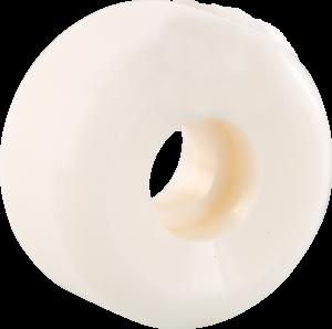 BLANK WHEEL WHITE x4