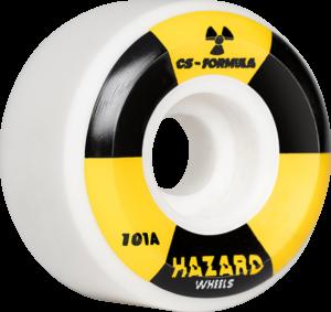 HAZARD CS RADIO ACTIVE CONICAL 52mm WHITE x4