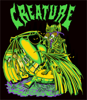 CREATURE TRADER DECAL 4