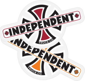 Independent VINTAGE B/C DECAL 4