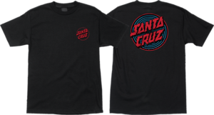 Santa Cruz DEPTH DOT SS BLACK