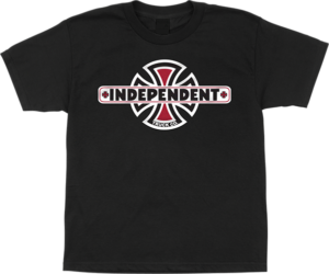 Independent VINTAGE B/C YTH SS BLACK