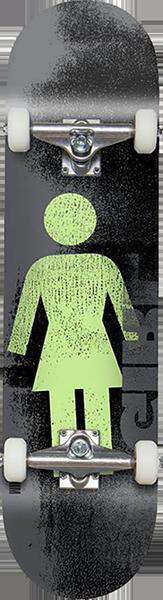 GIRL BENNETT ROLLER WR40D2 COMPLETE-8.0 BLK/WHT