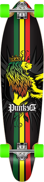 PUNKED KICKTAIL COMPLETE-9.75x40 RASTA LION