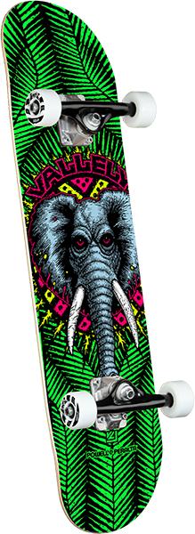 Powell Peralta VALLELY ELEPHANT SP21 COMPLETE-8.0 GREEN