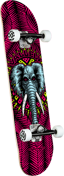 Powell Peralta VALLELY ELEPHANT SP21 COMPLETE-8.25 PINK
