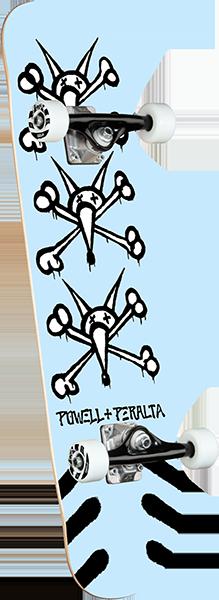 Powell Peralta VATO RATS SP21 COMPLETE-8.0 LT.BLUE