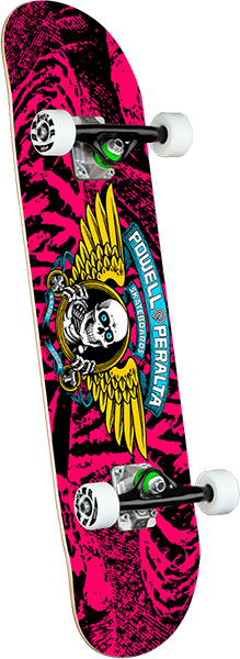 Powell Peralta WINGED RIPPER SP21 COMPLETE-7.0 PINK