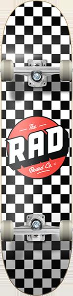 RAD CHECKER COMPLETE-7.5 WHT/BLK W/RED