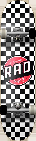 RAD CHECKER 2 COMPLETE-6.75 BLK/WHT