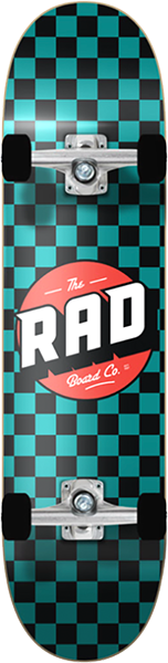 RAD CHECKER 2 COMPLETE-7.2 BLK/TEAL