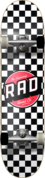 RAD CHECKER 2 COMPLETE-8.0 BLK/WHT