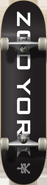 ZY OG 95 LOGO BLOCK COMPLETE-7.75 BLK/WHT