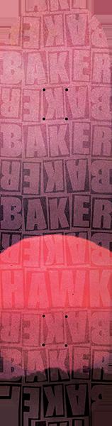 BAKER HAWK PILE DECK-8.12 RED