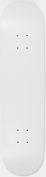 BLANK C5 DECK-8.0 WHITE DIP