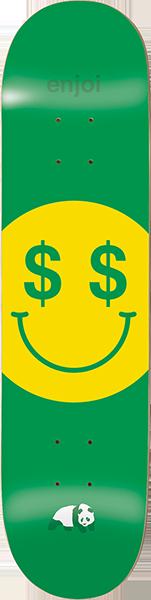 ENJOI CASH MONEY DECK-8.25 GREEN r7