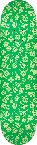 KROOKED FLOWERS DECK GREEN