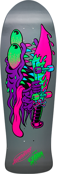Santa Cruz MEEK SLASHER DECK-10.1x31.13 BLACKLIGHT