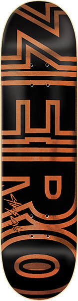 ZERO COLE SIGNATURE BOLD DECK-8.0 COPPER/BLK
