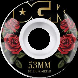 DGK ROMANCE 53MM WHITE x4