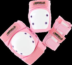 IMPALA KIDS PROTECTIVE PACK PADS JR M-PINK