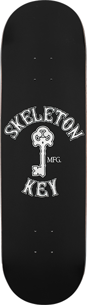 SKELETON KEY KEY LOGO DECK-8.0 BLACK
