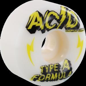ACID TYPE A SIDECUT POWER 54mm 101a WHITE x4