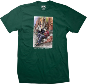 DGK CORNER THE MARKET SS FOREST GREEN