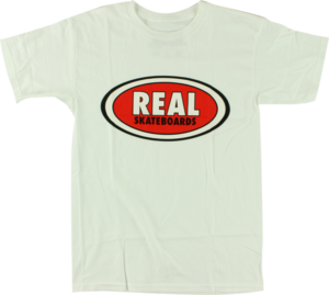 REAL OG OVAL SS WHT/RED/BLK