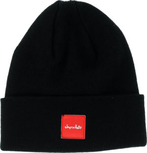 Chocolate TIGHT CUFF BEANIE BLACK