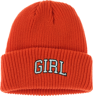 GIRL ARCH BEANIE ORANGE