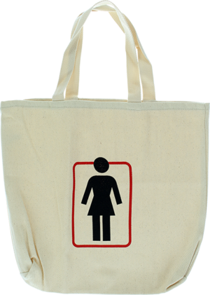GIRL UNBOXED CANVAS TOTE BAG NATURAL