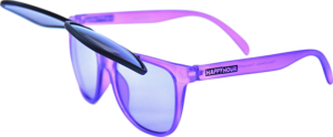 HAPPY HR SUNGLASSES FLIP UP PURPLE PEOPLE EATERS