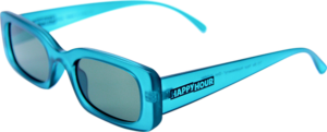 HAPPY HR SUNGLASSES PICCADILLY TEAL/G15 LENS
