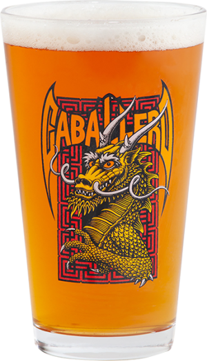 Powell Peralta CAB STREET DRAGON PINT GLASS
