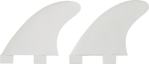 FIN SOLUTIONS FCS GL SIDE BITES WHITE 2fin set