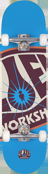 Alien Workshop OG LOGO COMPLETE-8.0 BLUE