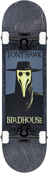 BIRDHOUSE HAWK PLAGUE DOCTOR COMP-8.0 BLACK