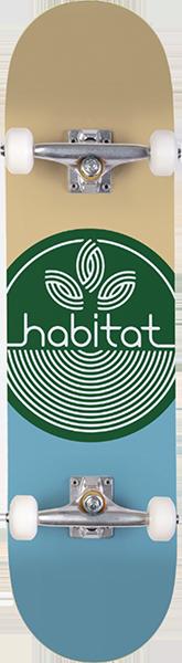 Habitat LEAF DOT COMPLETE-7.75 GREEN