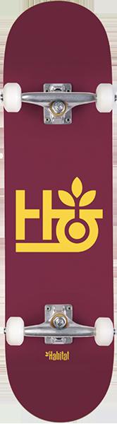 Habitat POD COMPLETE-8.25 BURGUNDY